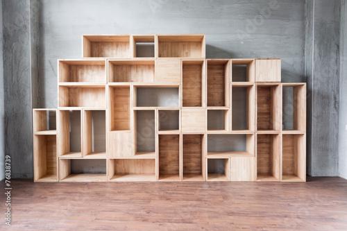 Empty wooden - 76838739