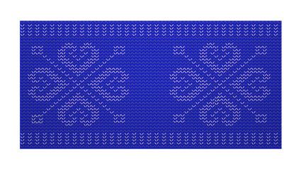 Scandinavian woven pattern