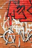 Red graffiti-Lezo
