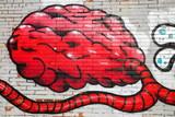 Red brain-graffiti-Europe