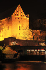 noc w Olsztynie
