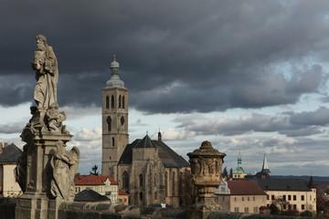 St James Church in Kutna Hora, Czech Republic.