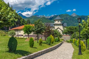 Orthodox monastery Moraca.