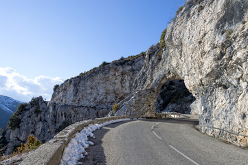 provence mountain road