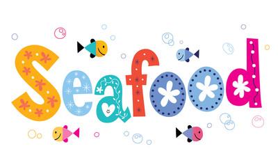 seafood text