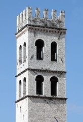 Tower of the People in Assisi, Italy