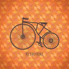 Vector  old bike