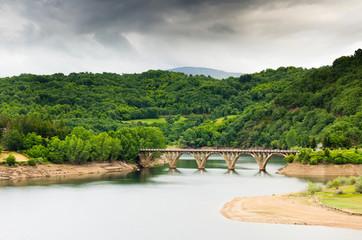Bridge in Viana do Bolo (Spain)