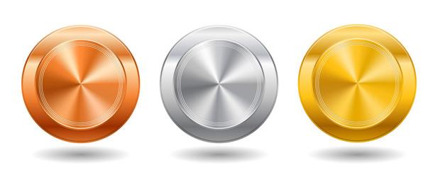 Металлические кнопки