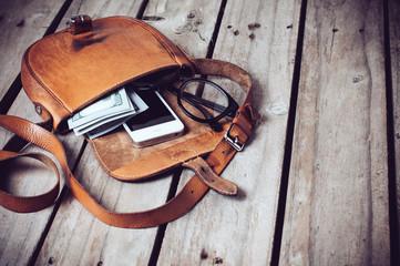 hipster's bag
