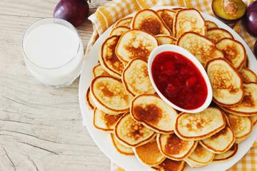 traditional european breakfast