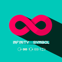 Infinity Symbol - Retro Vector