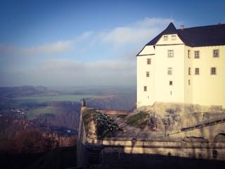 Georgenbatterie, Festung Königstein
