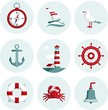 Nautical icons - 76852527