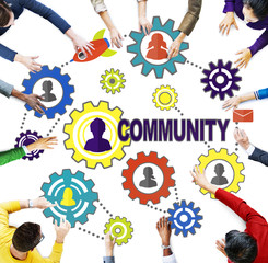 Community Culture Society Population Team Tradition Union
