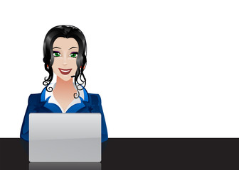 customer support operator.