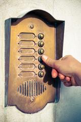 citofono campanello di casa