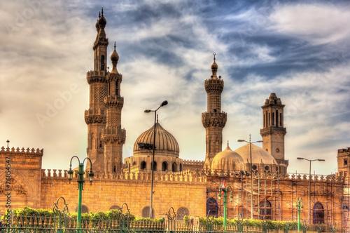 Foto op Canvas Egypte Al-Azhar Mosque in Cairo - Egypt