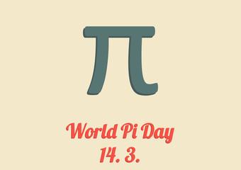 World Pi day card