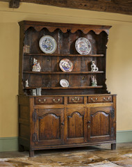 old english antique oak kitchen dresser