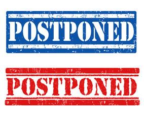 Postponed stamps