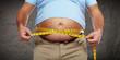 Leinwanddruck Bild - Obesity.