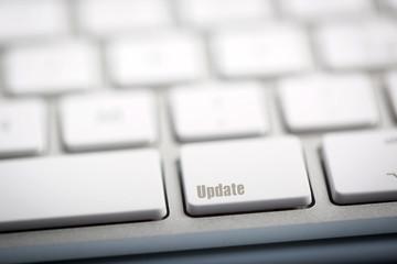 """The word """"UPDATE written on keyboard"""