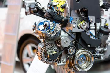 Turbo car engine