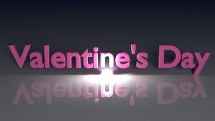 バレンタインデーのテキストのパーティクルのアニメーション_5