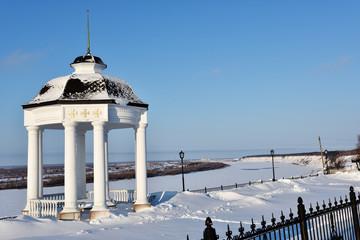 View to Irtysh river from Tobolsk Kremlin