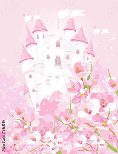 Fairytale castle Plakát