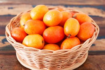 Fruit Jocote (Red Mombin, Mombin, Hog Plum, Siriguela)