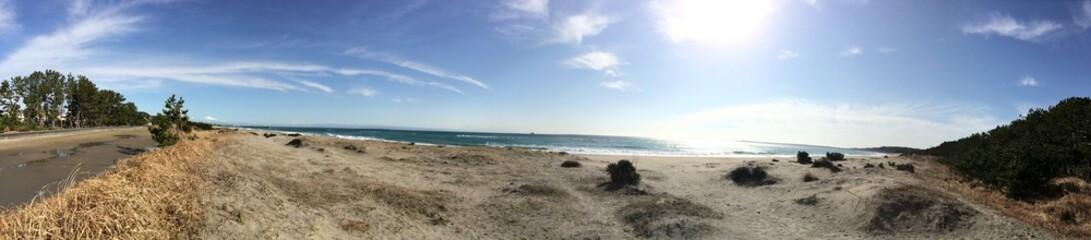 浜辺のパノラマ