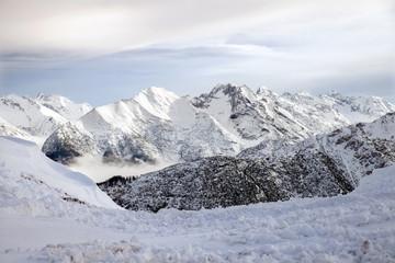 Panoramic view of Austrian Alps from Seefelder Joch, 2 064 m