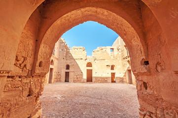 Qasr Kharana is a desert castle in eastern Jordan