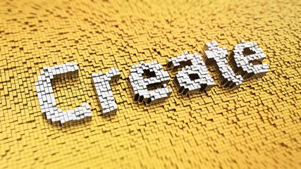 Pixelated Create