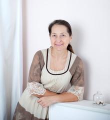 lady in   elegant dress