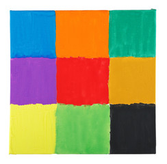 squares on canvas
