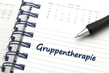 Gruppentherapie - konzeptionell