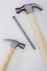 hammer and big nail
