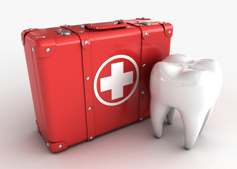 Tooth and Medical Kit