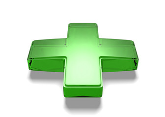 3d medical cross