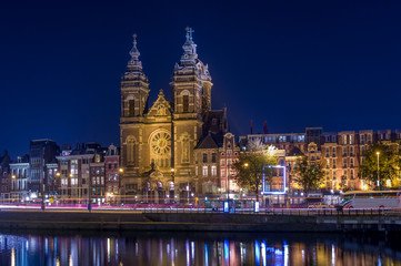 St. Nicholas at night