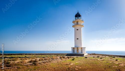 obraz PCV Formentera latarnia