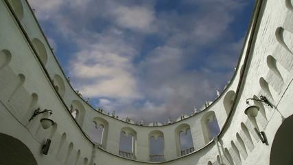 Kutafia (bridgehead) tower, Moscow Kremlin,  Russia