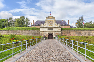 Entrance to the Vauban Citadel , Lille