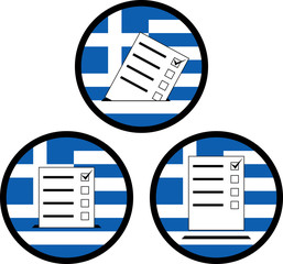 signs of voting in greece