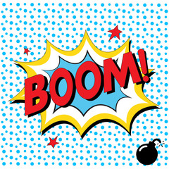Boom - Comic Speech Bubble