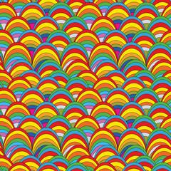 Pop art seamless pattern