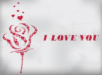 I Love You - Saint-Valentin